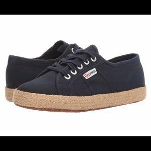 Superga Cotropew Navy Sneaker Size 10 NWT